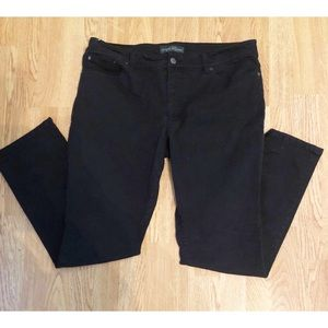 Lauren Ralph Lauren butter soft black Jeans, SZ 16
